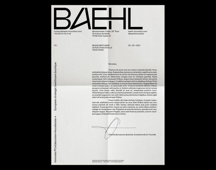 Baehl branding by Brand Brothers