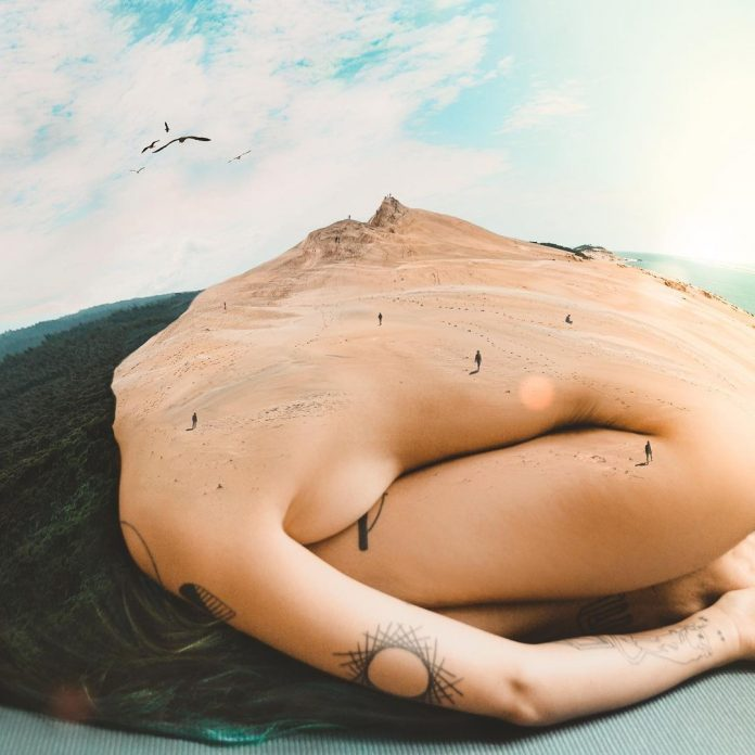 Surreal photo manipulations by Monica Carvalho.