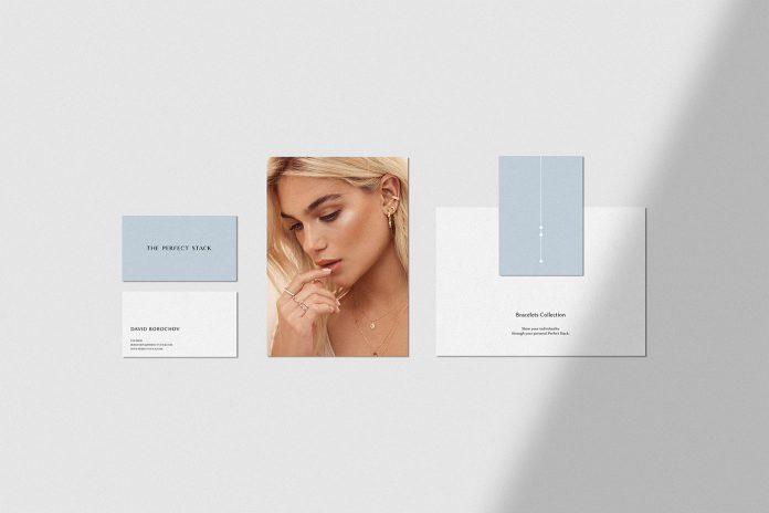 The Perfect Stack branding by Anastasia Dunaeva.