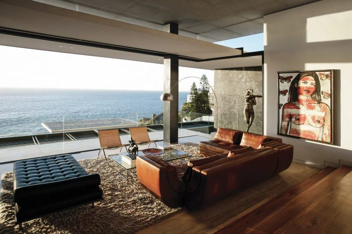 Interior design by ARRCC for Horizon Villa in Cape Town, South Africa.