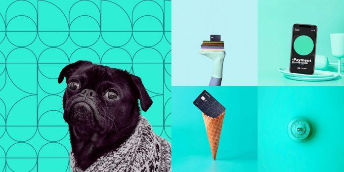 Moneeq – fintech bank branding by graphic design agency Vinille