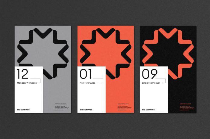 Big Compass branding by Studio Mast.