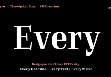 Every font family by Anita Jürgeleit.