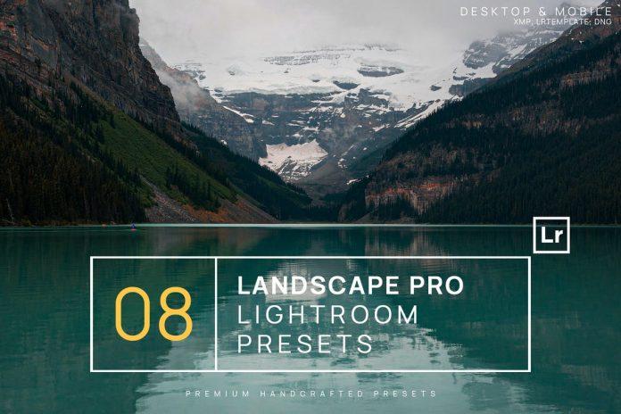 Landscape Pro Lightroom Presets