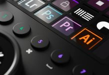 Loupedeck controller for creative professionals