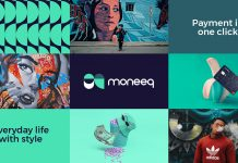 Moneeq – fintech bank branding by graphic design agency Vinille