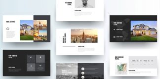 Real Estate Presentation Template by GraphicArtist.