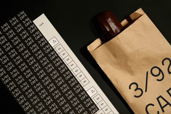 392/CAFÉ branding by Mexican graphic designer Karla Heredia Martínez.