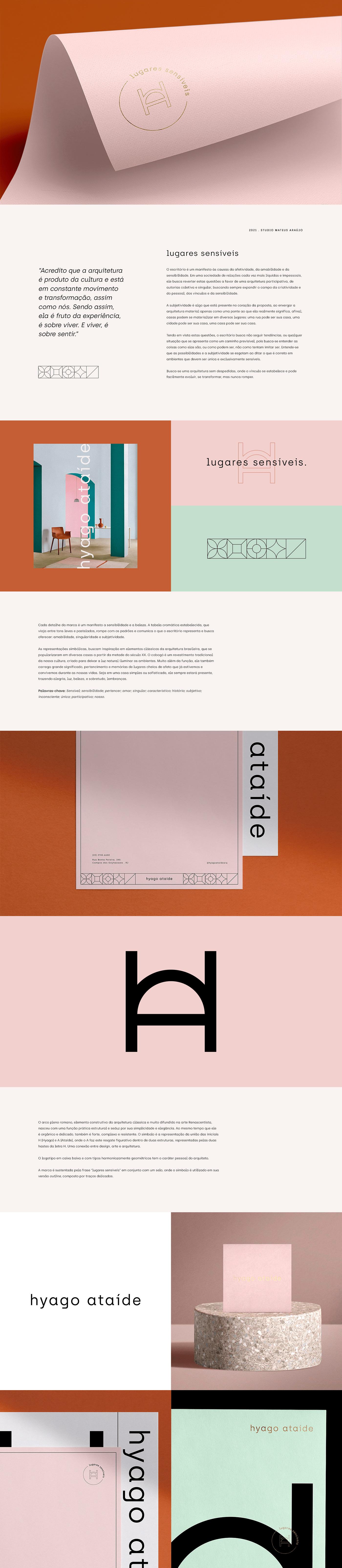 Hyago Ataíde branding by Mateus Araújo