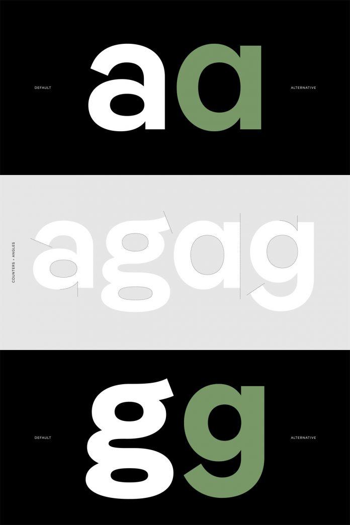 Pangea font family from Fontwerk.