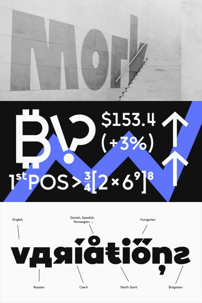 Vary font family by Monotype