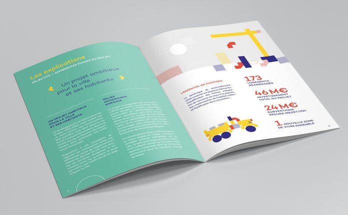 Rethel 2030 branding by Graphéine