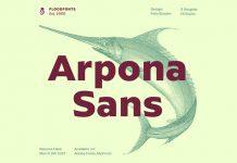 Arpona Sans Font Family by Felix Braden