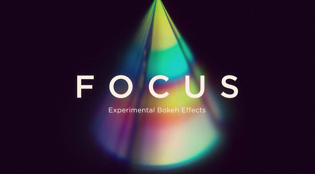 Focus: 12 experimental bokeh effects available as high-resolution PNG files.