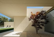 House in Santarém by dp Arquitectos