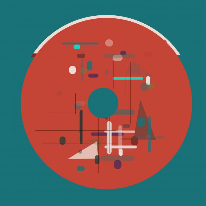 Code generated Bauhaus NFT art: CircleMaker №30