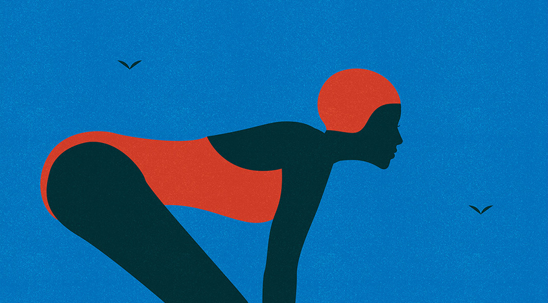 Outdoor Swimming Posters by Telegramme Paper Co.