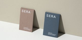 SERA branding by Acute, a Vienna-based creative practice founded by Isabella Thaller.
