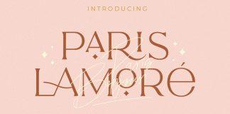 The Paris Lamore Sans and Script Font by NEWFLIX.Bro.