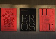 Typographic Love Letters by Stelios Ypsilantis