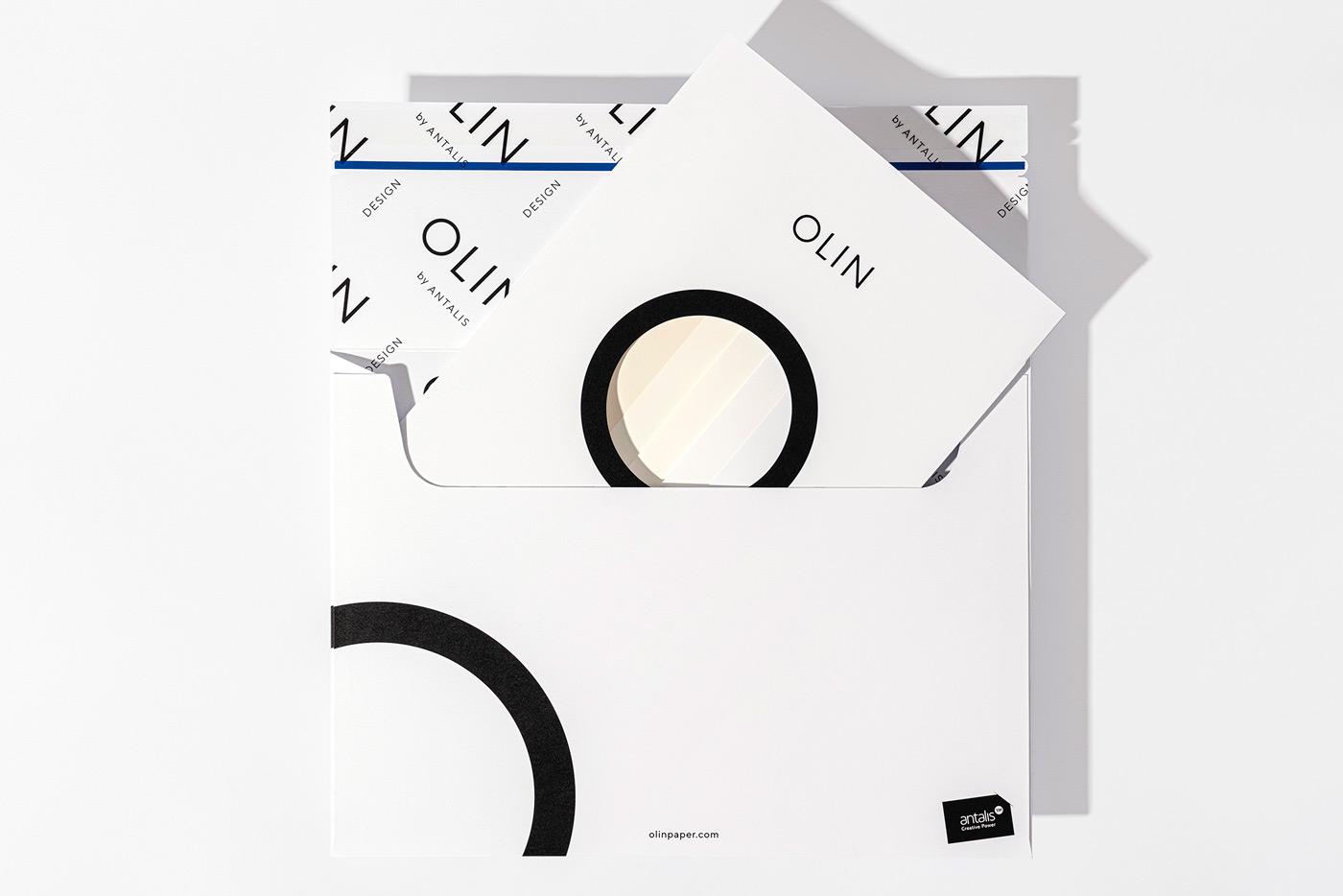 Design & Practice Rebrands Olin Paper by Antalis