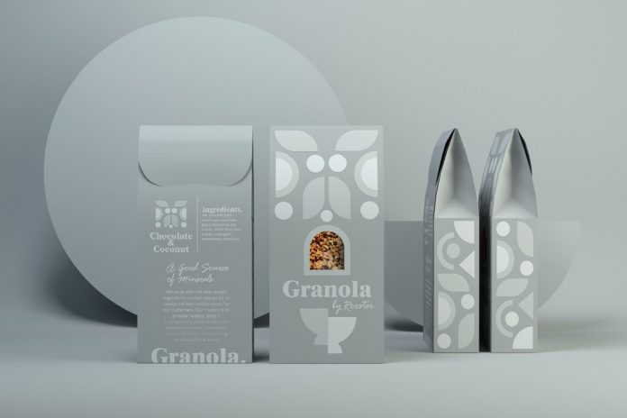 Granola packaging design by CreativeByDefinition.