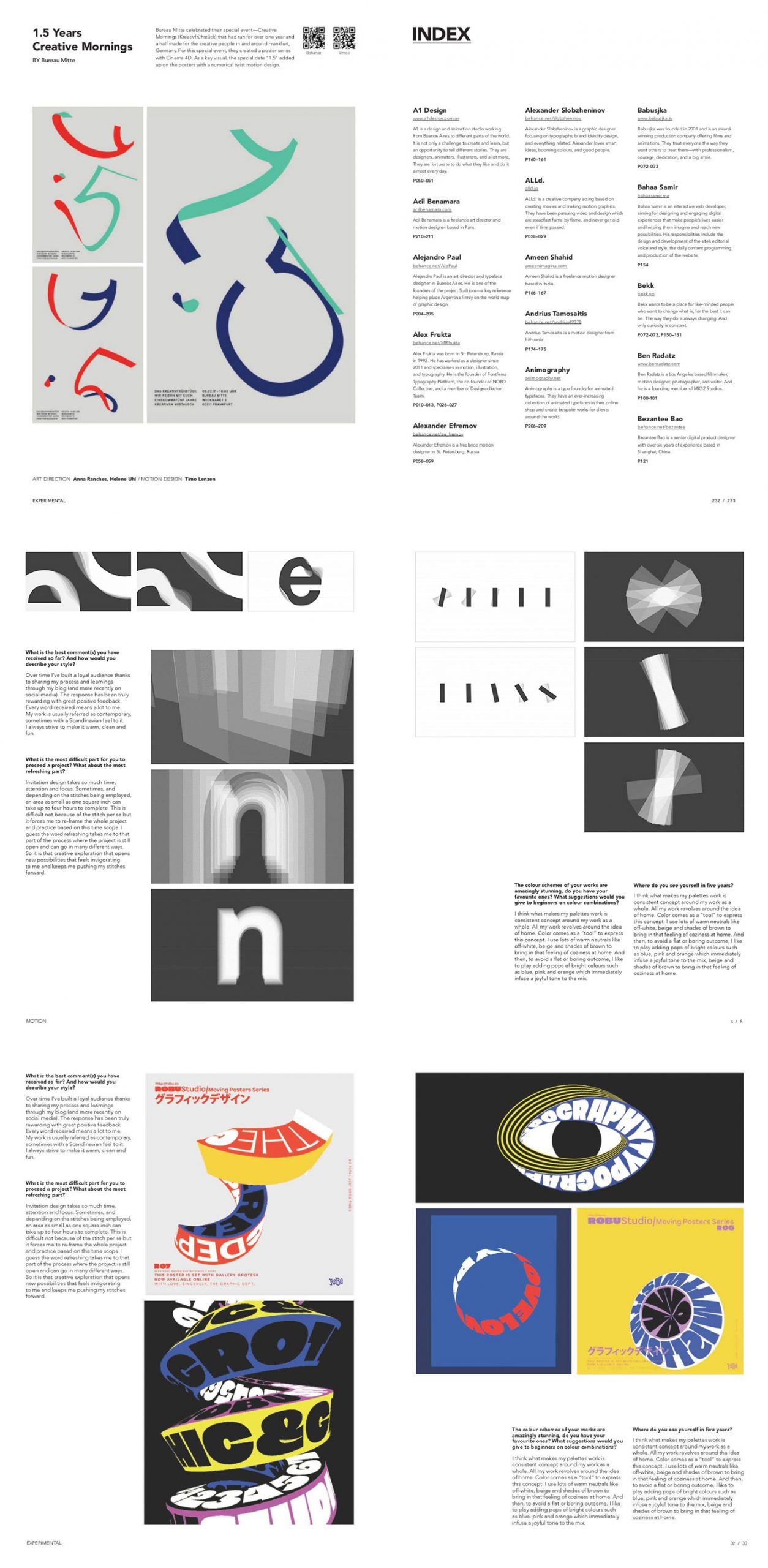 Typography for Screen: Type in Motion — Book by Wang Shaoqiang