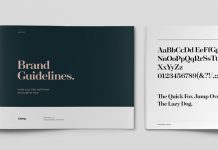 Clean InDesign Brand Guidelines Template