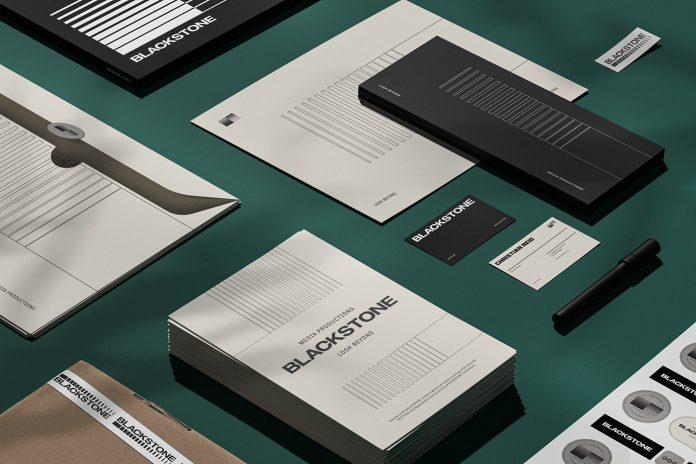 Branding by Estúdio Gole for Blackstone Media Productions