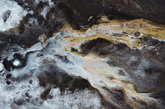 Iceland areal photography by Dani Guindo