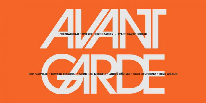 Avant Garde font family from ITC
