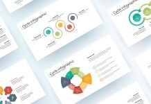 Cycle Process Infographic Presentation Template