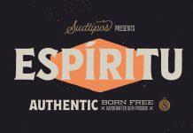 Espiritu Font Set by Sudtipos