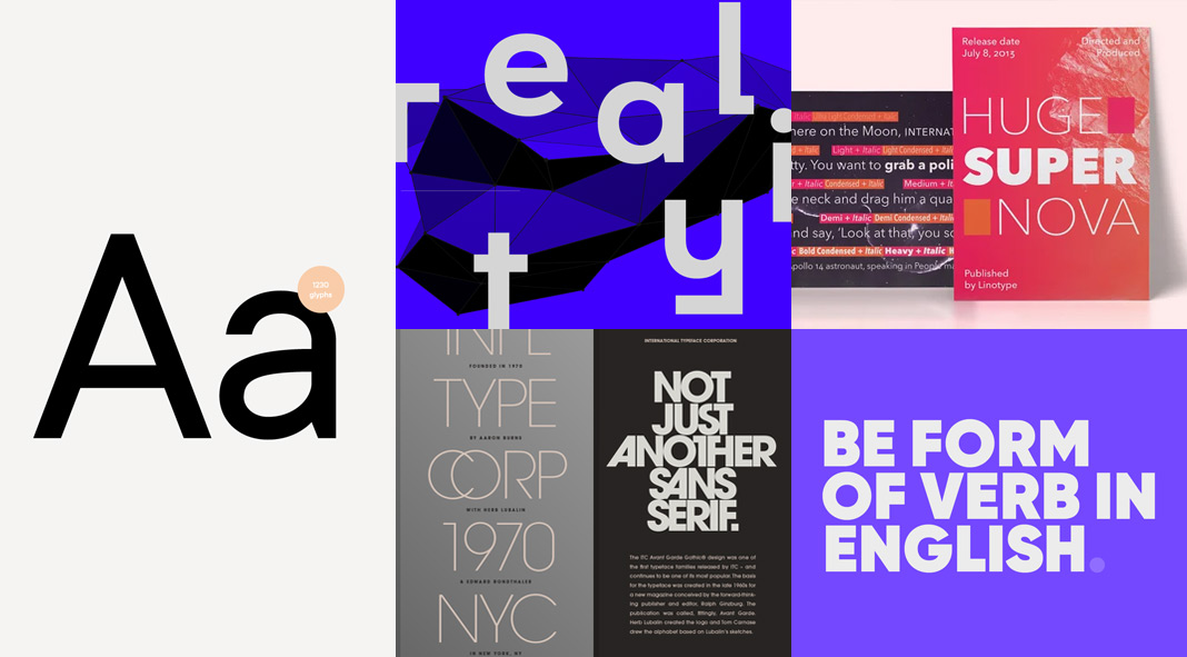 Five Best Minimal Fonts