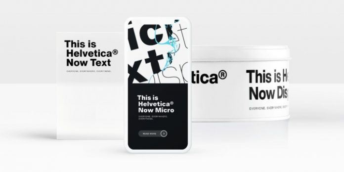 Helvetica® Now by Monotype is well suited for web design