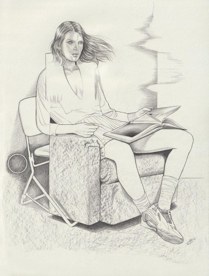 Martine Johanna, Imaginary Lives (drawing)