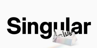 Neue Singular font family by type foundry Neue