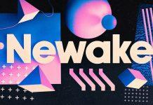 Newake free font from Indieground Design