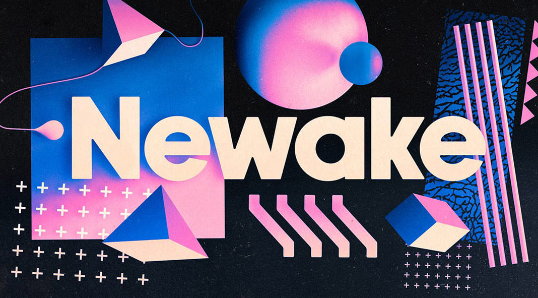Newake free font from Indieground Design