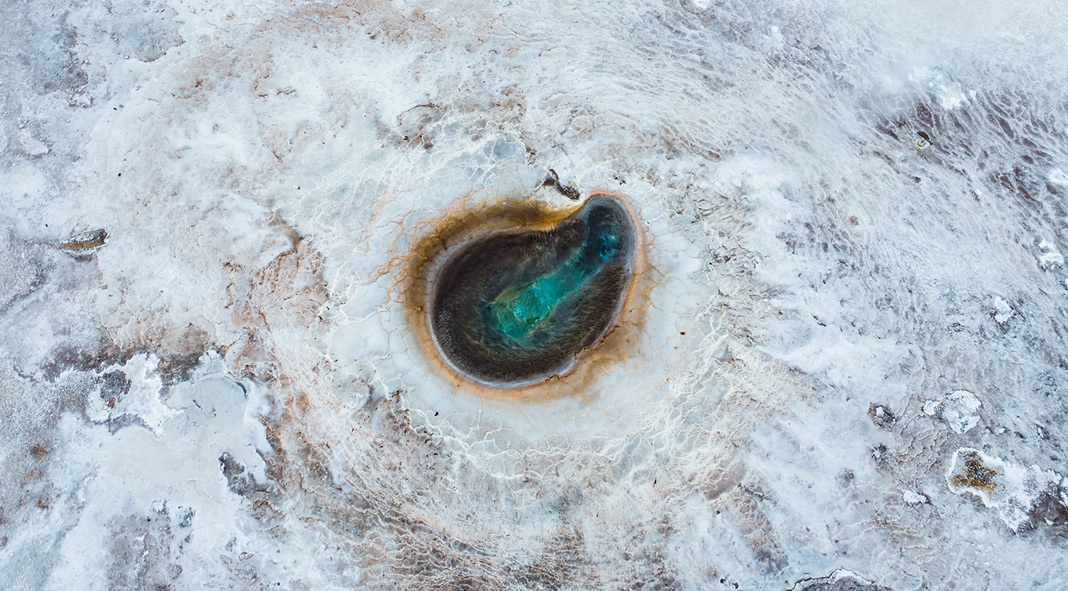 The Painted Worlds, a photo collection from a few different geothermal areas over Iceland captured by Dani Guindo
