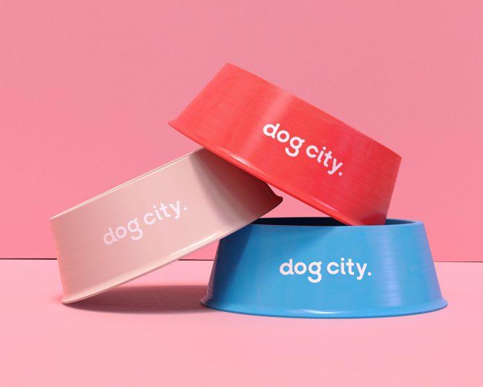 DOG CITY branding by studio Shift