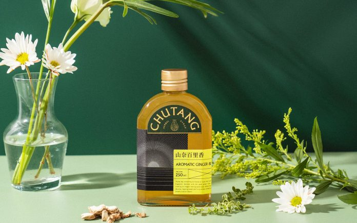 Packaging design by Midnight Design for the flavored syrups of CHUTANG.