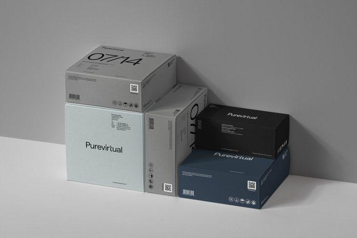 Purevirtual AG branding by Alphamark