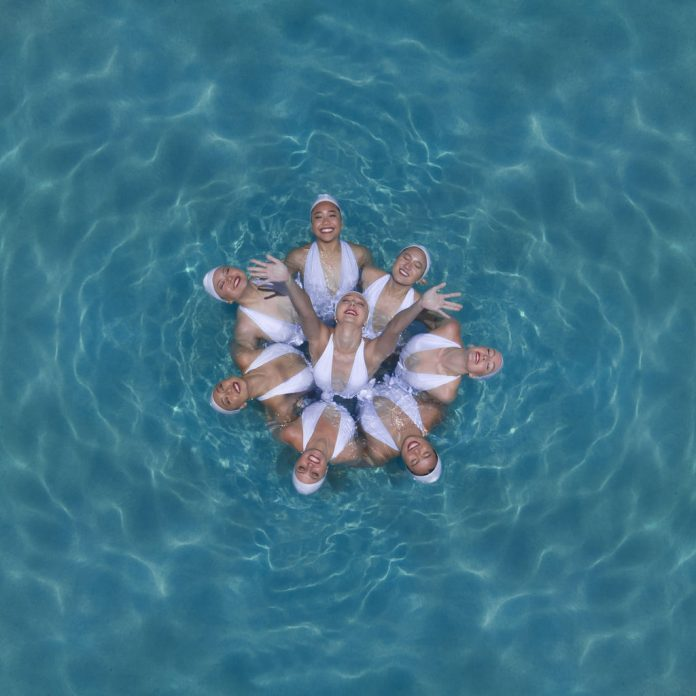 The Beauty of Synchronized Swimming From Above - Aerial Photography by Brad Walls