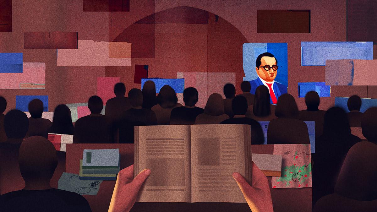 The Correspondent - Editorial Illustrations by Ibrahim Rayintakath