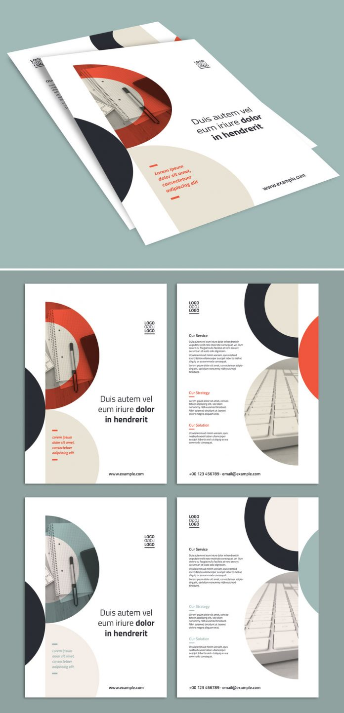 A4 Business Flyer Template for Adobe Illustrator
