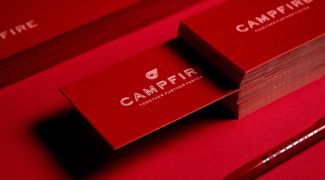 Campfire branding by Chan Hiu