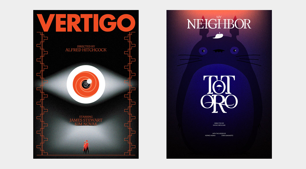Movie posters volume two by Panos Tsironis