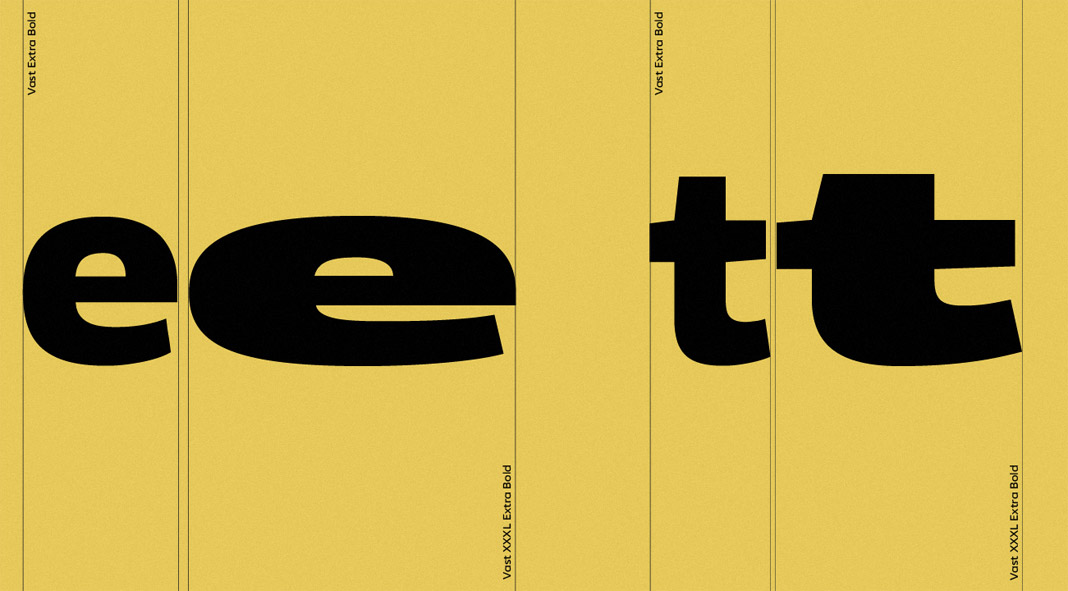 Vast font family by ParaType