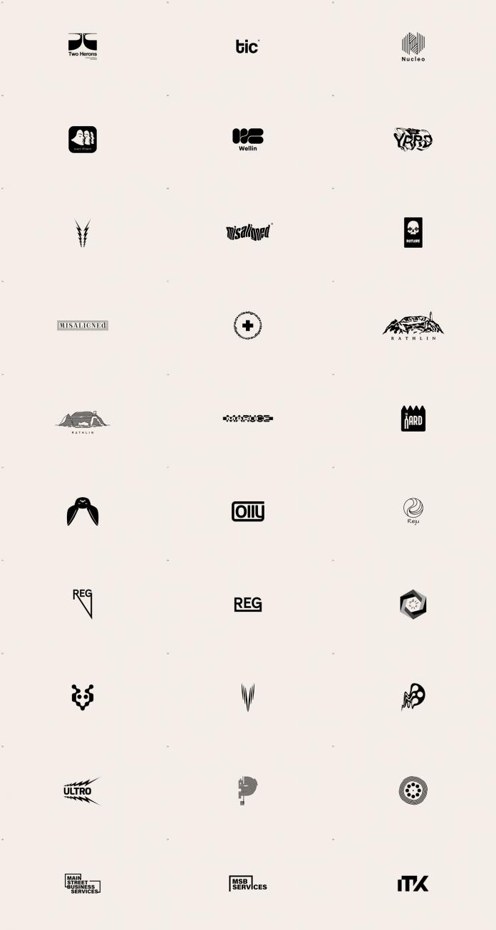 30 marks and logos by Malina Cosmica
